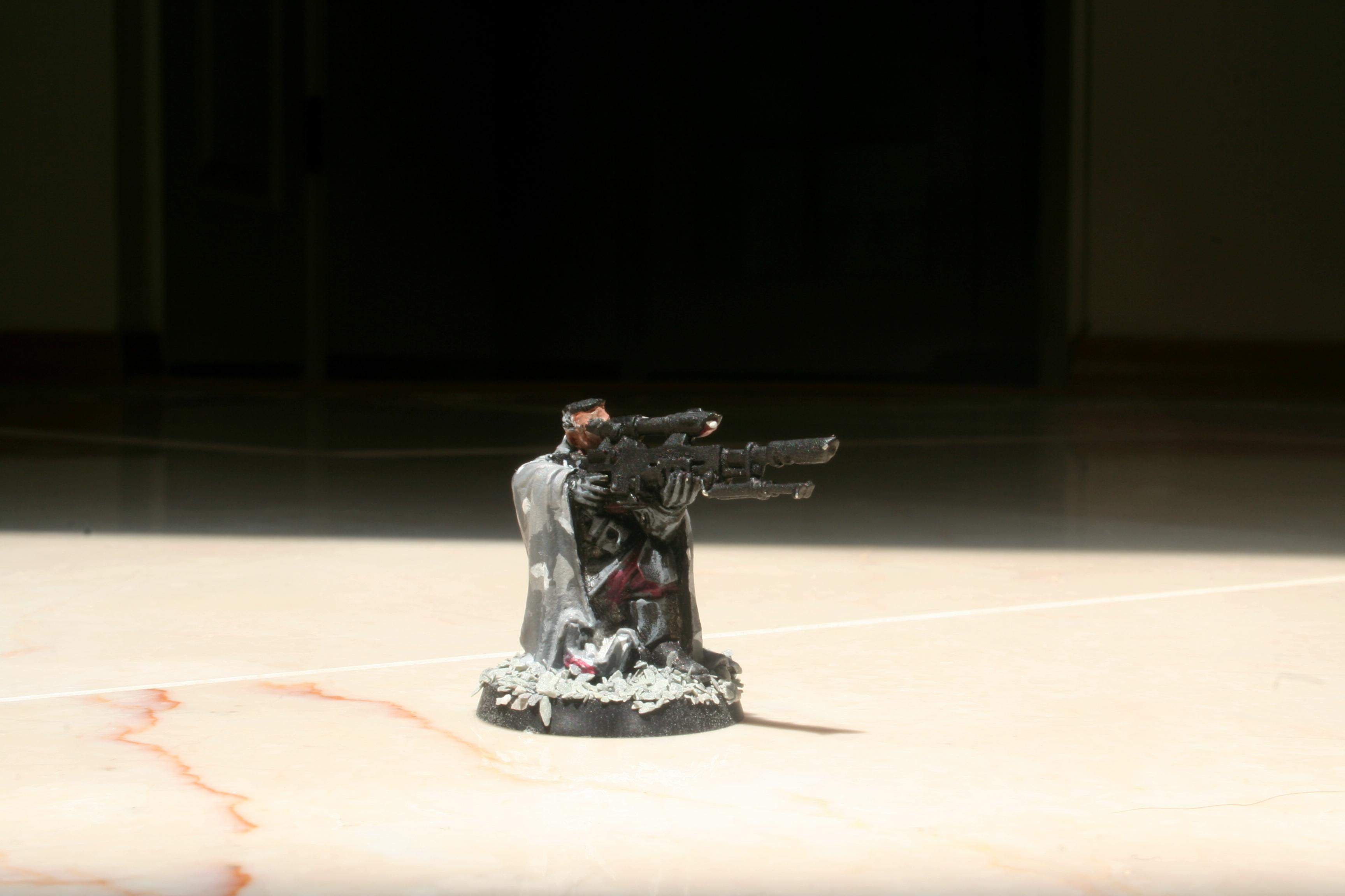 Cadian Sniper, Cadians, Imperial, Imperial Army, Urban Camo