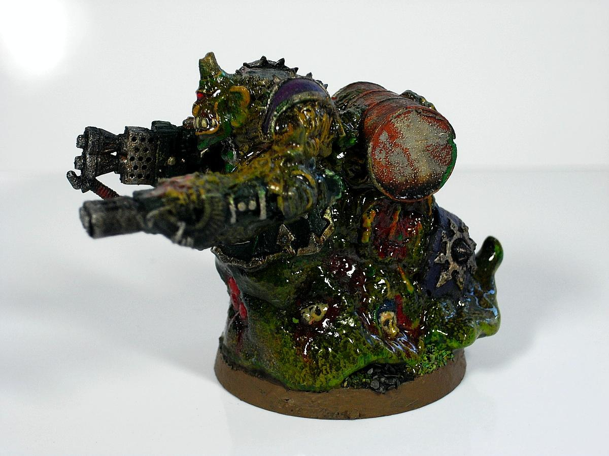 Chaos Space Marines, Nurgle, Obliterators, Warhammer 40,000