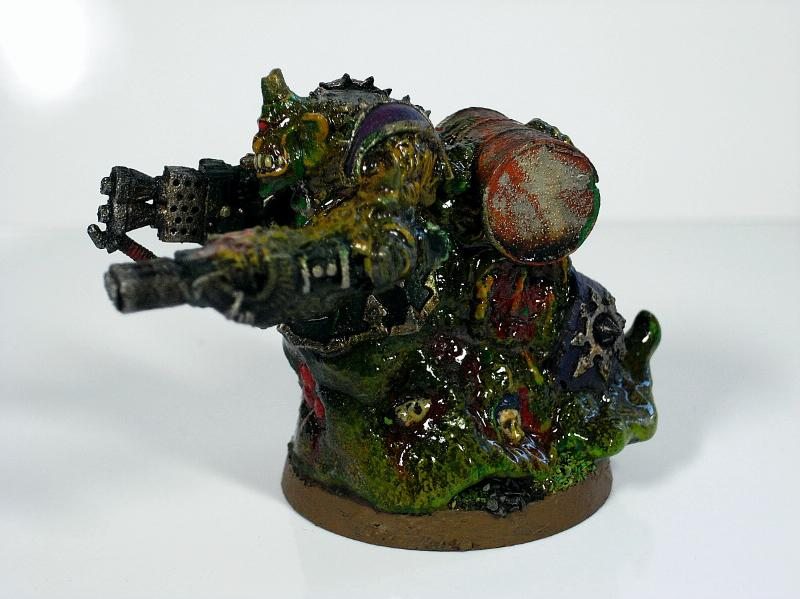 Chaos Space Marines, Nurgle, Obliterators, Warhammer 40,000