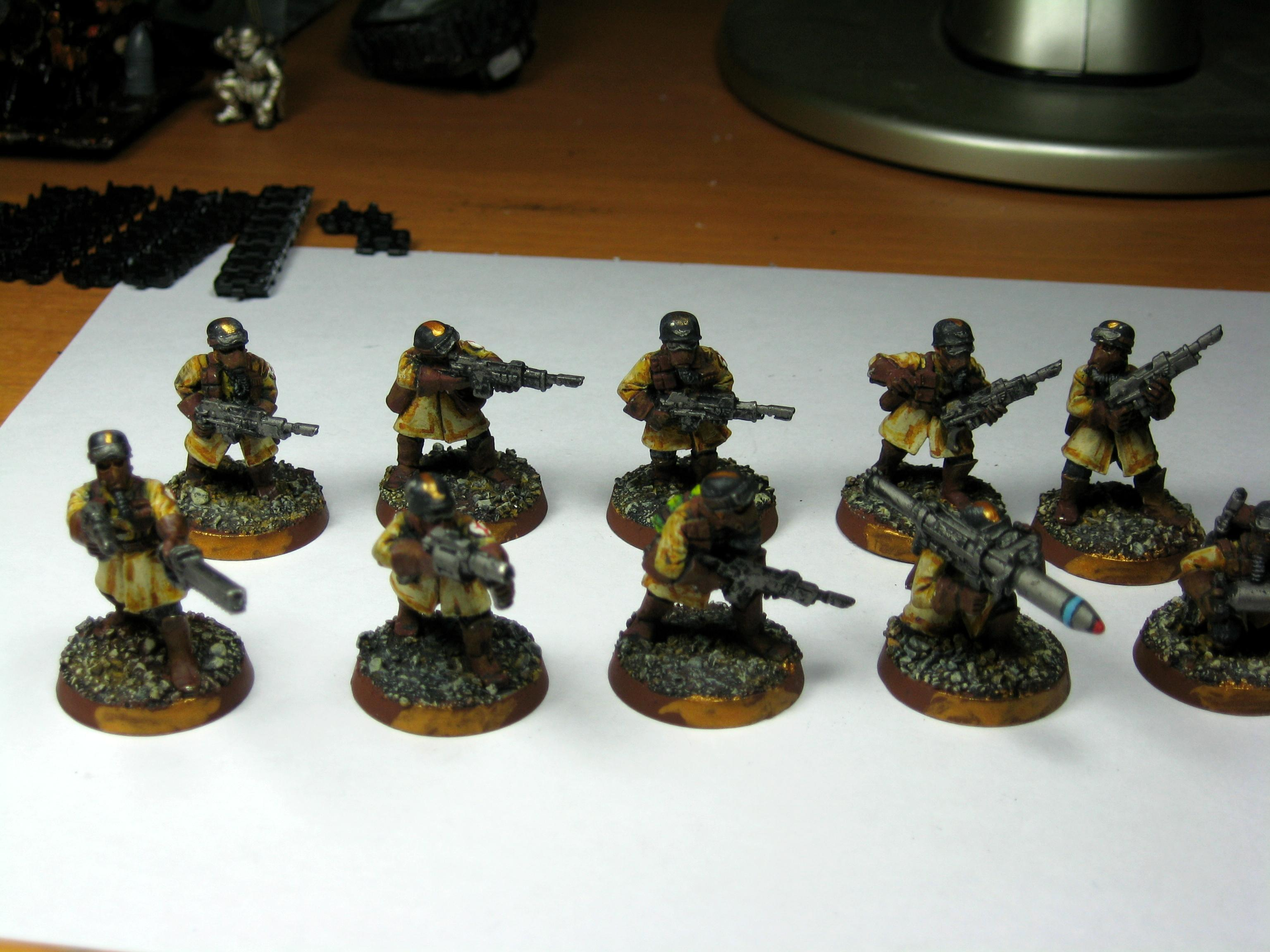 Armageddon Steel Legion, Imperial Guard, Infantry Squad