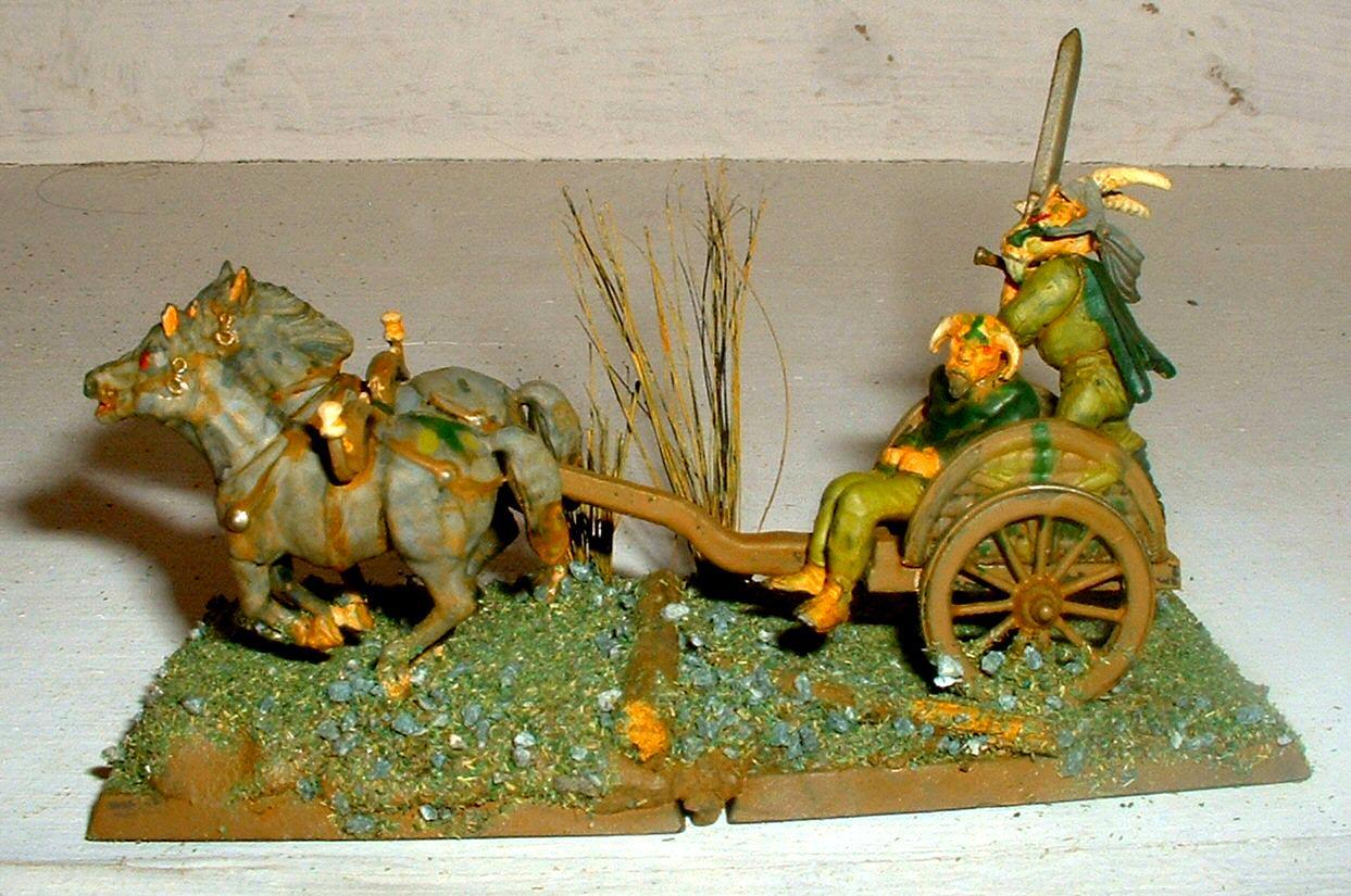 Beastmen, Celt, Chariot, Nurgle, Wargames Factory