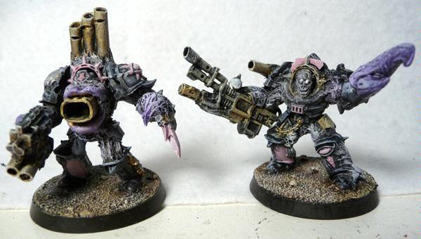 Chaos, Obliterators, Slaanesh