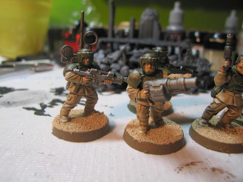 Imperial Guard, Guardsmen left view