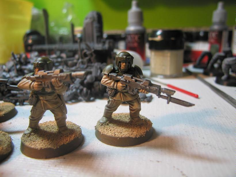 Guardsmen right view