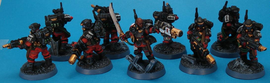 Henchman, Inquisition, Kasrkin, Scion, Scions, Storm, Stormtrooper, Troopers, Warrior Acolyte