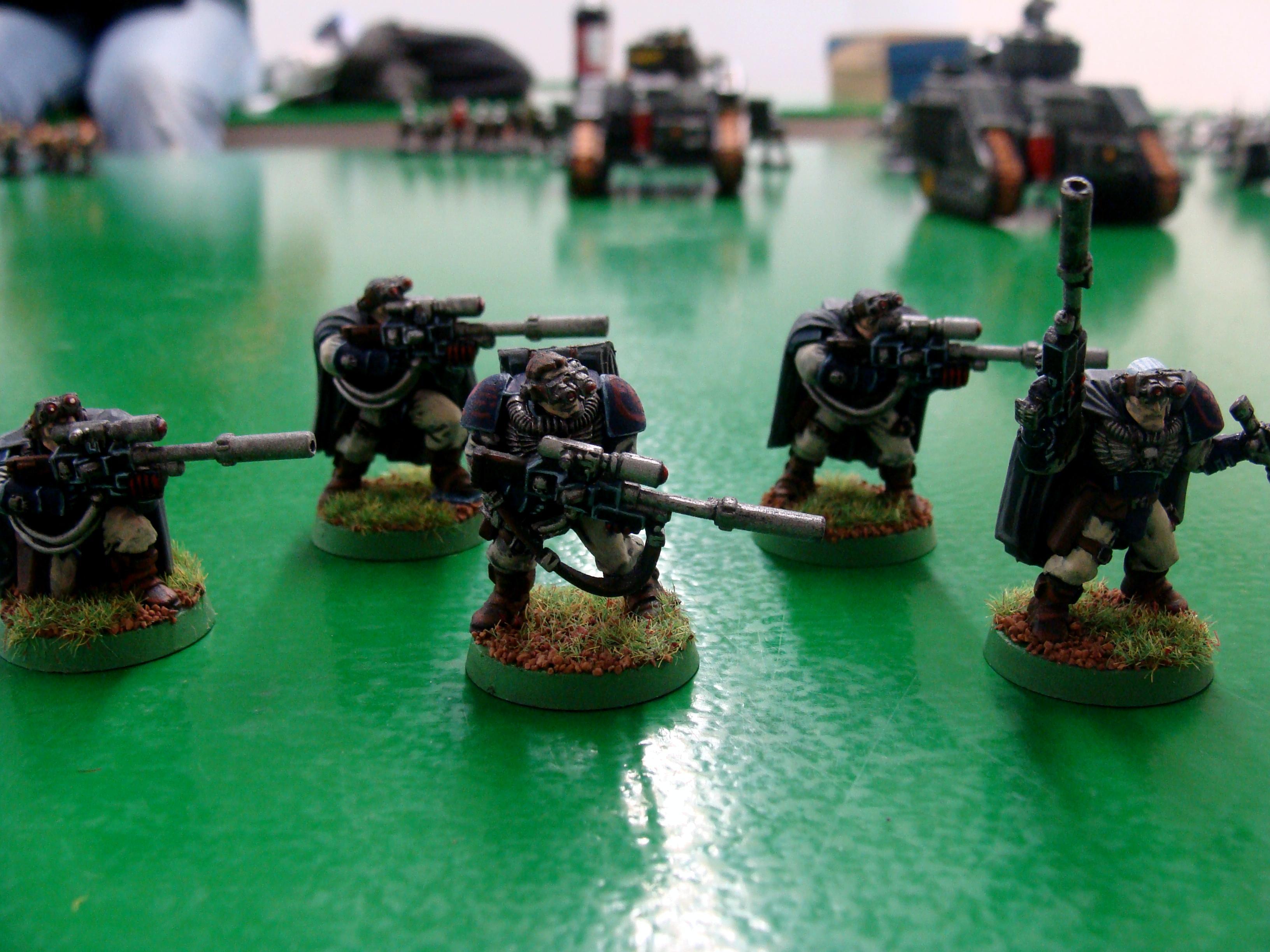 Crimson Fist, Scouts, Sniper Rifle, Space Marines