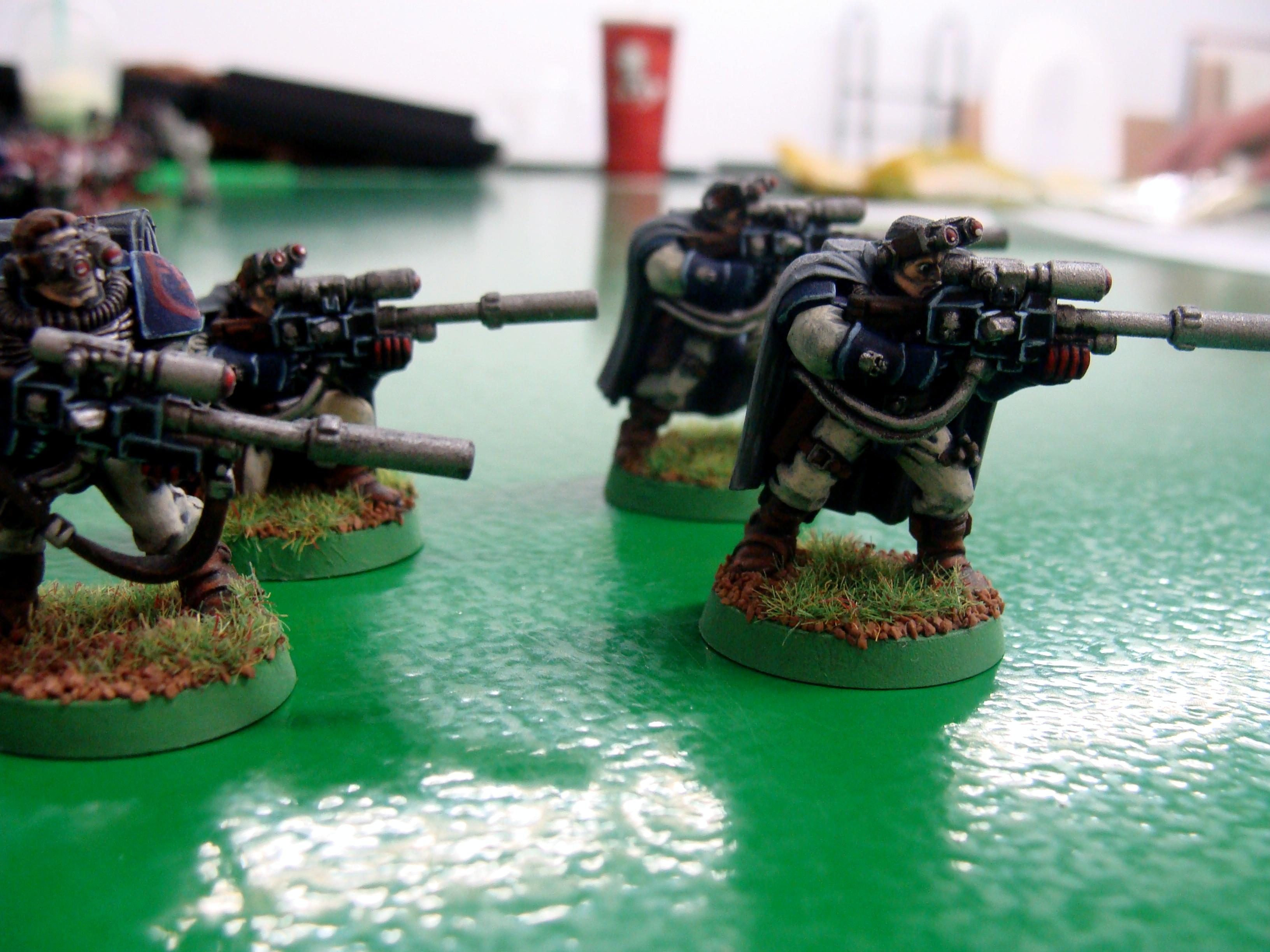 Crimson Fist, Scouts, Sniper Rifle, Space Marines