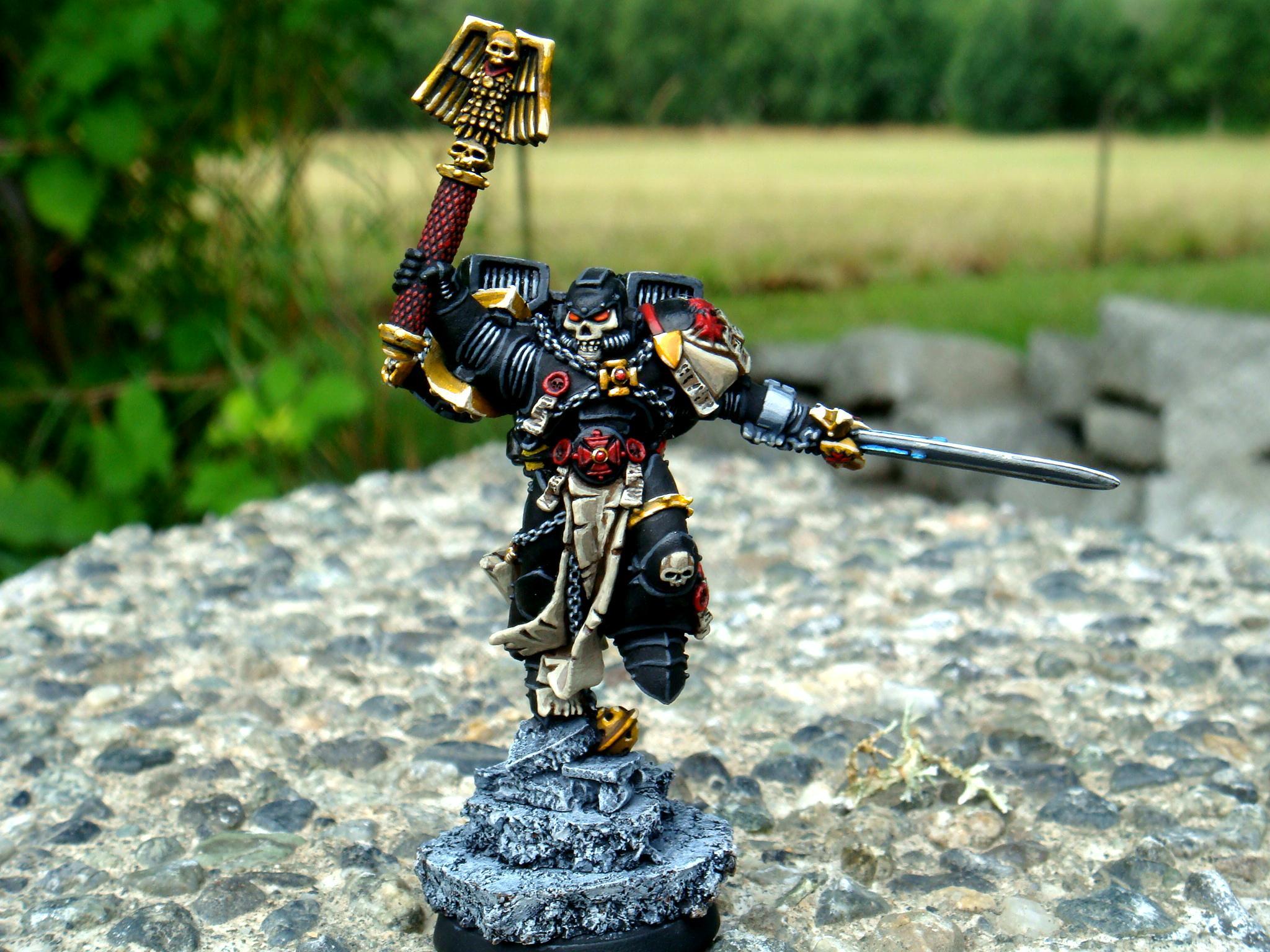 Assault, Badass, Chaplain, Conversion, Space Marines, Warhammer 40,000
