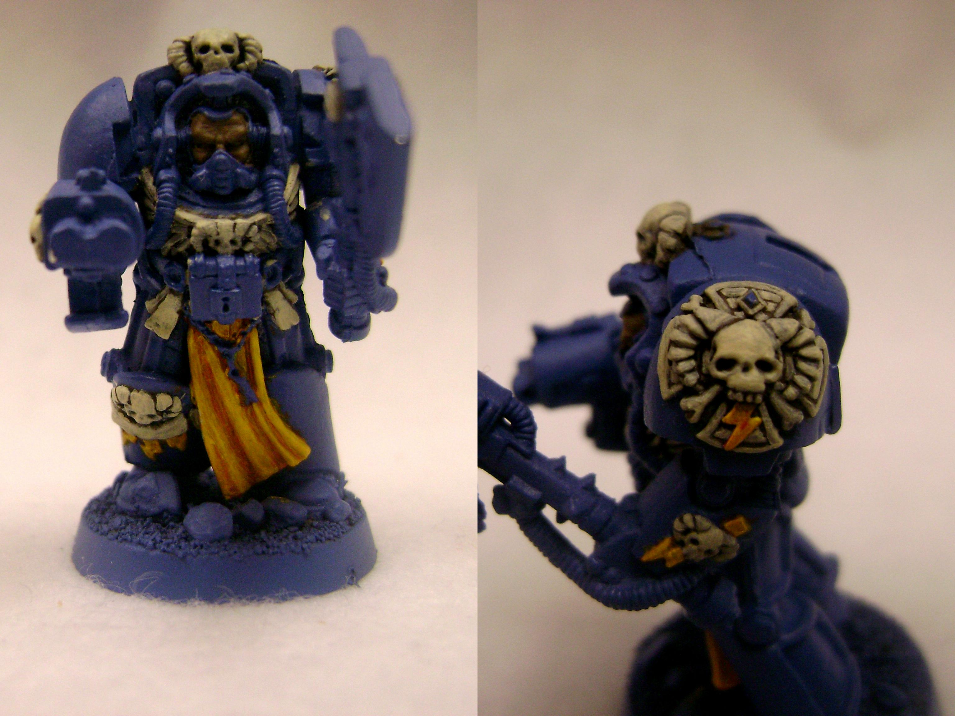 2nd Edition, Librarian, Space Marines, Terminator Armor, Ultramarines