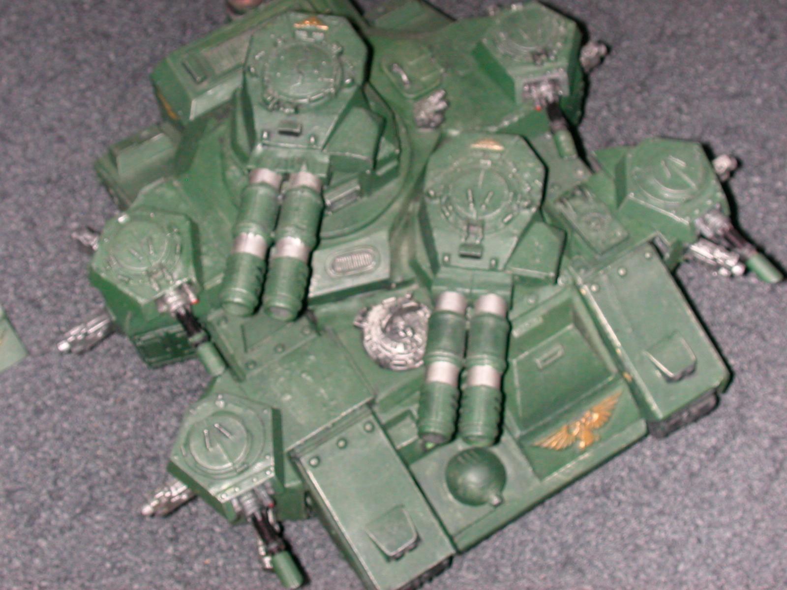 Banehammer, Imperial Guard, Scratch Build