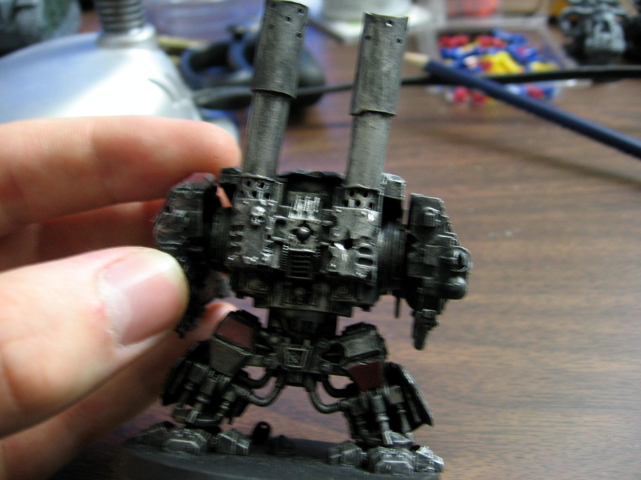 deffdread painting begins #2