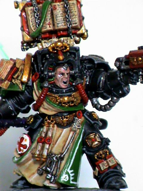 Librarian, Space Marines, Terminator Armor