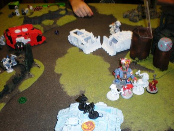Battle Report, Space Marines, Space Wolves