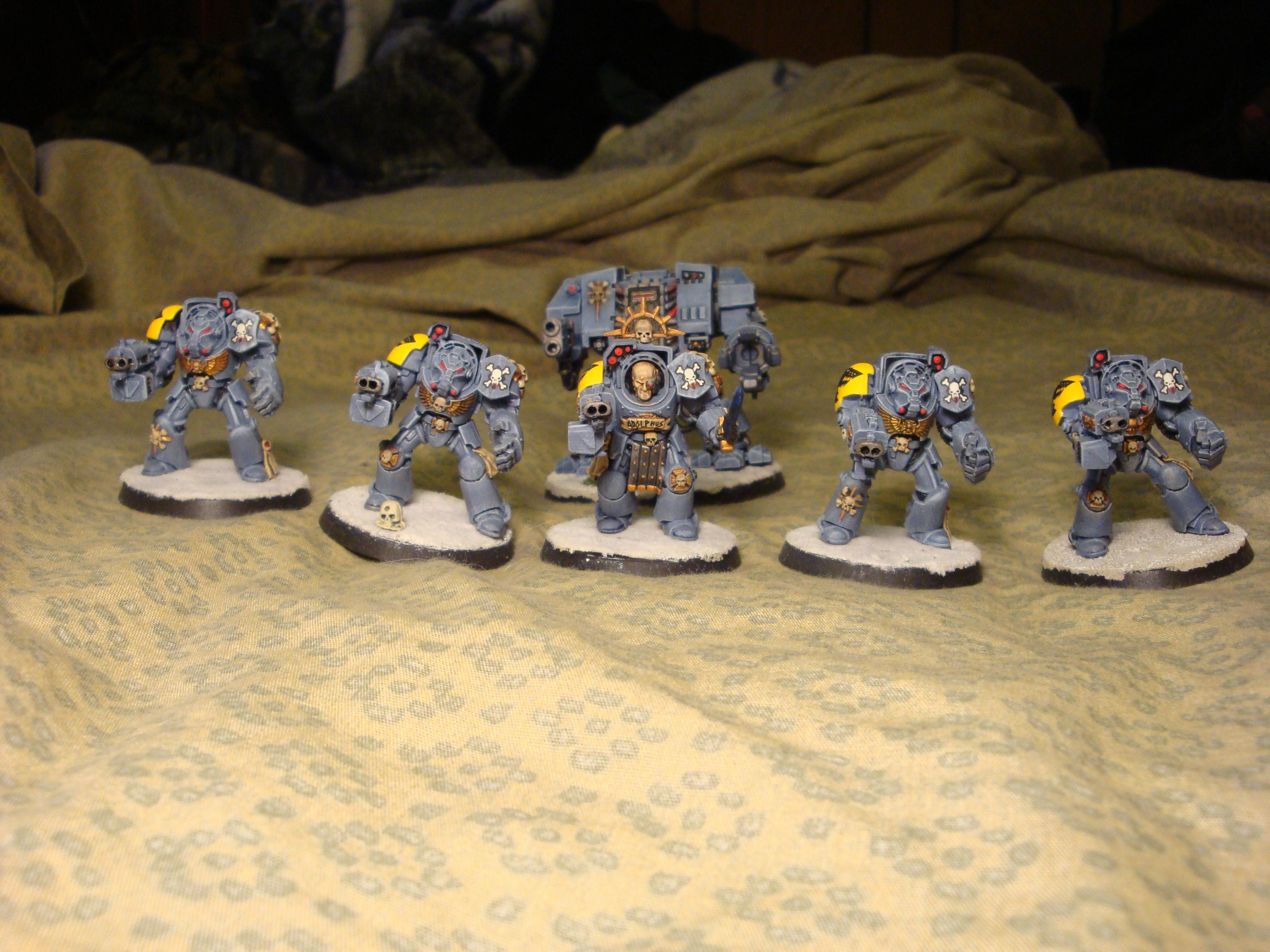 Assault On Black Reach, Terminator Armor