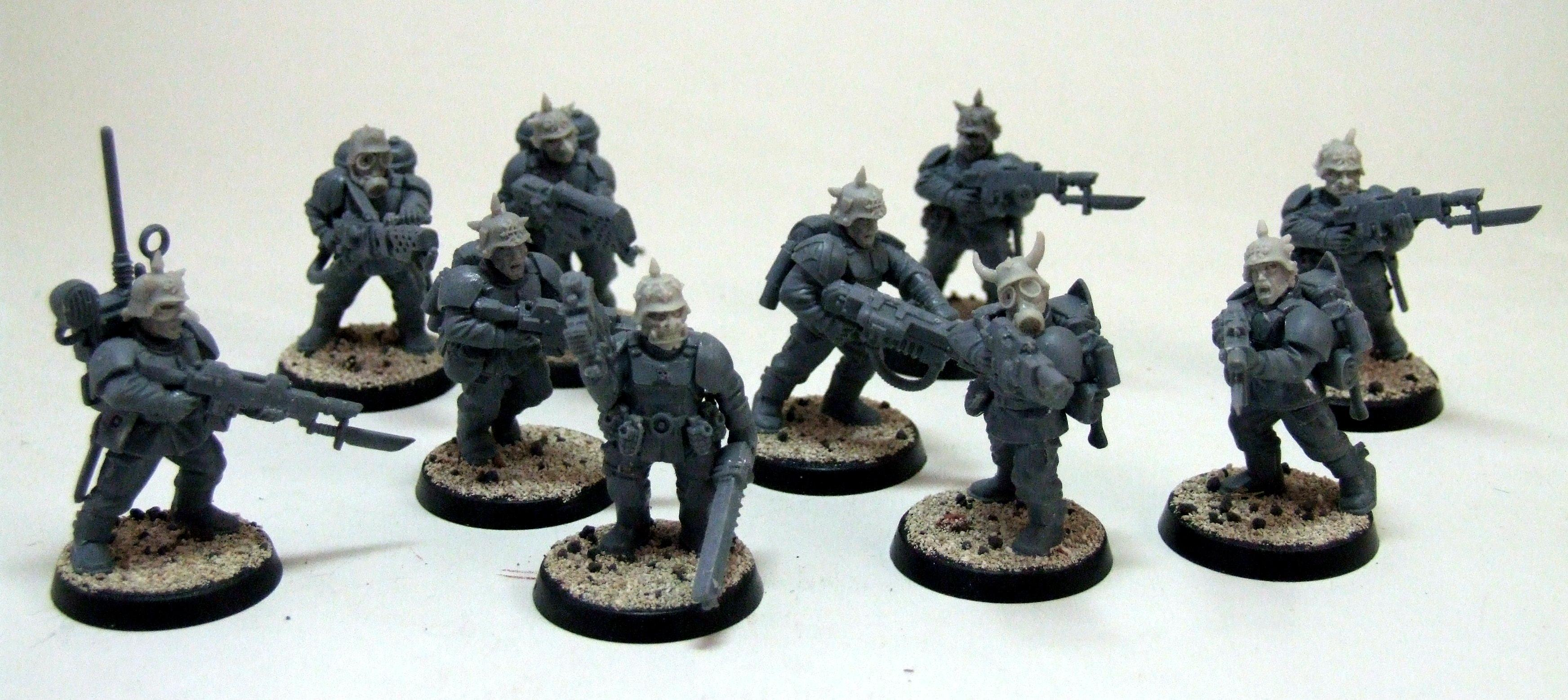 Imperial Guard, Lost And The Damned, Renegade, Traitor