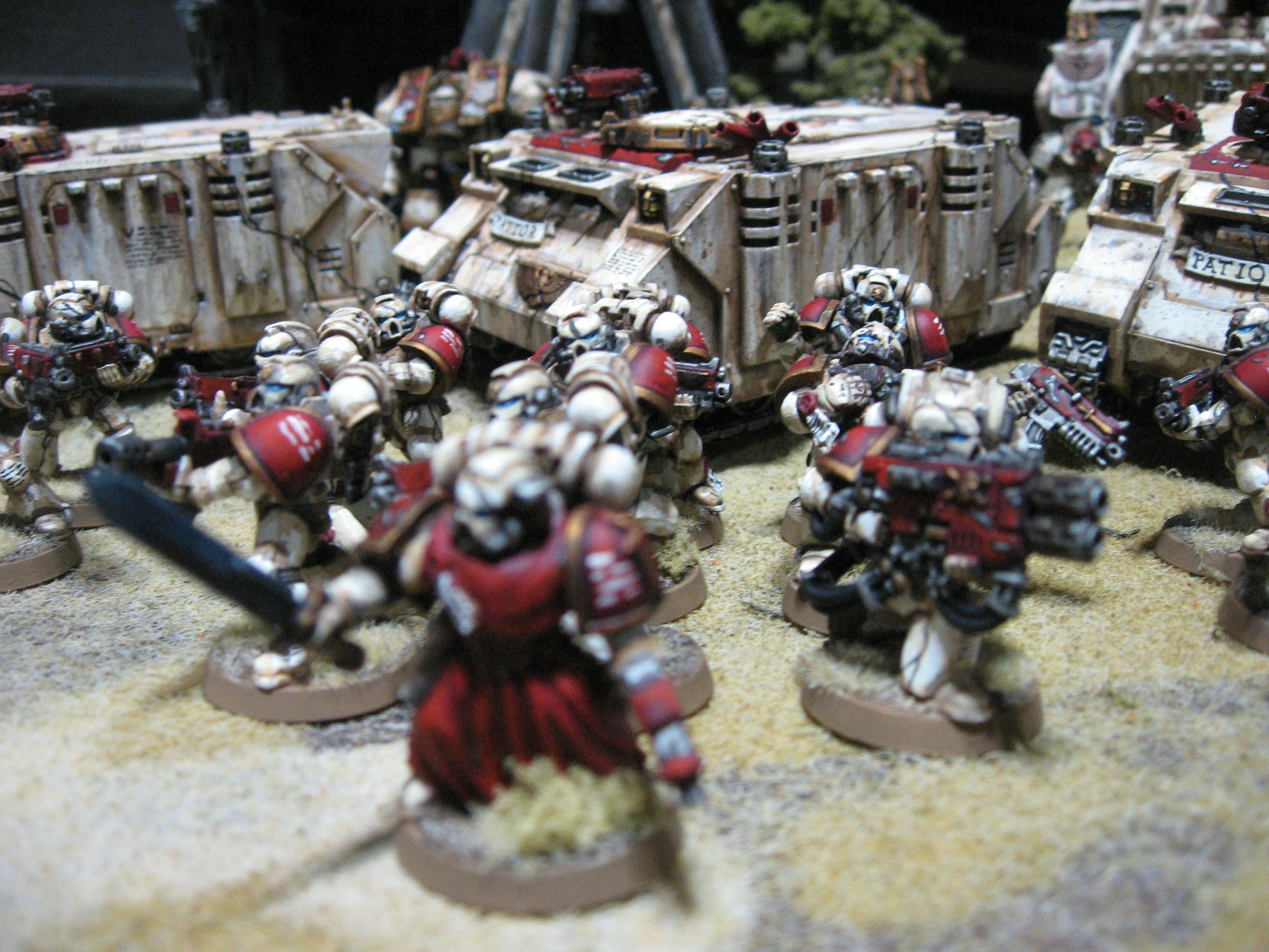 Space Marines, Warhammer 40,000, Weathered