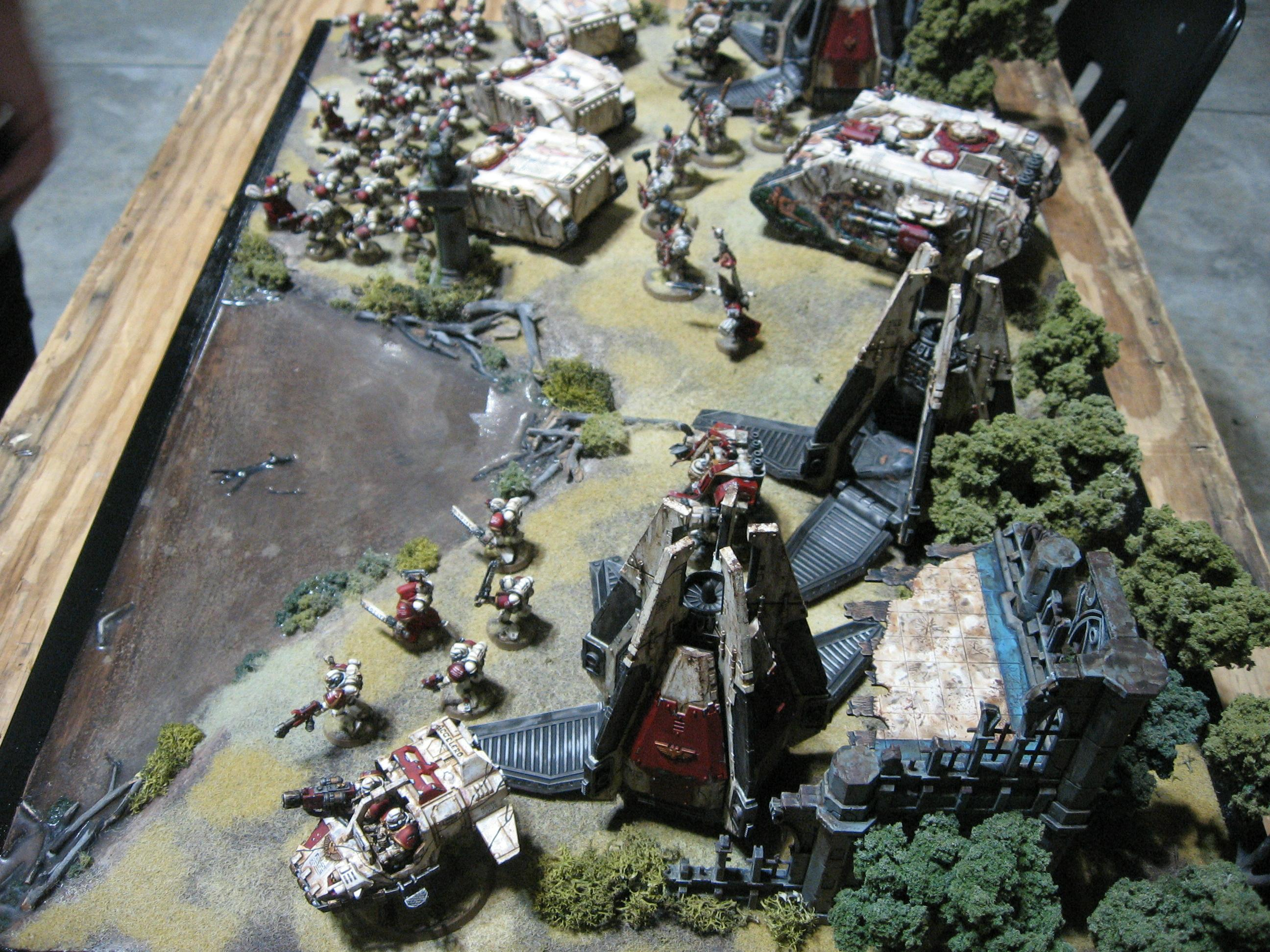 Army, Group, Space Marines, Warhammer 40,000