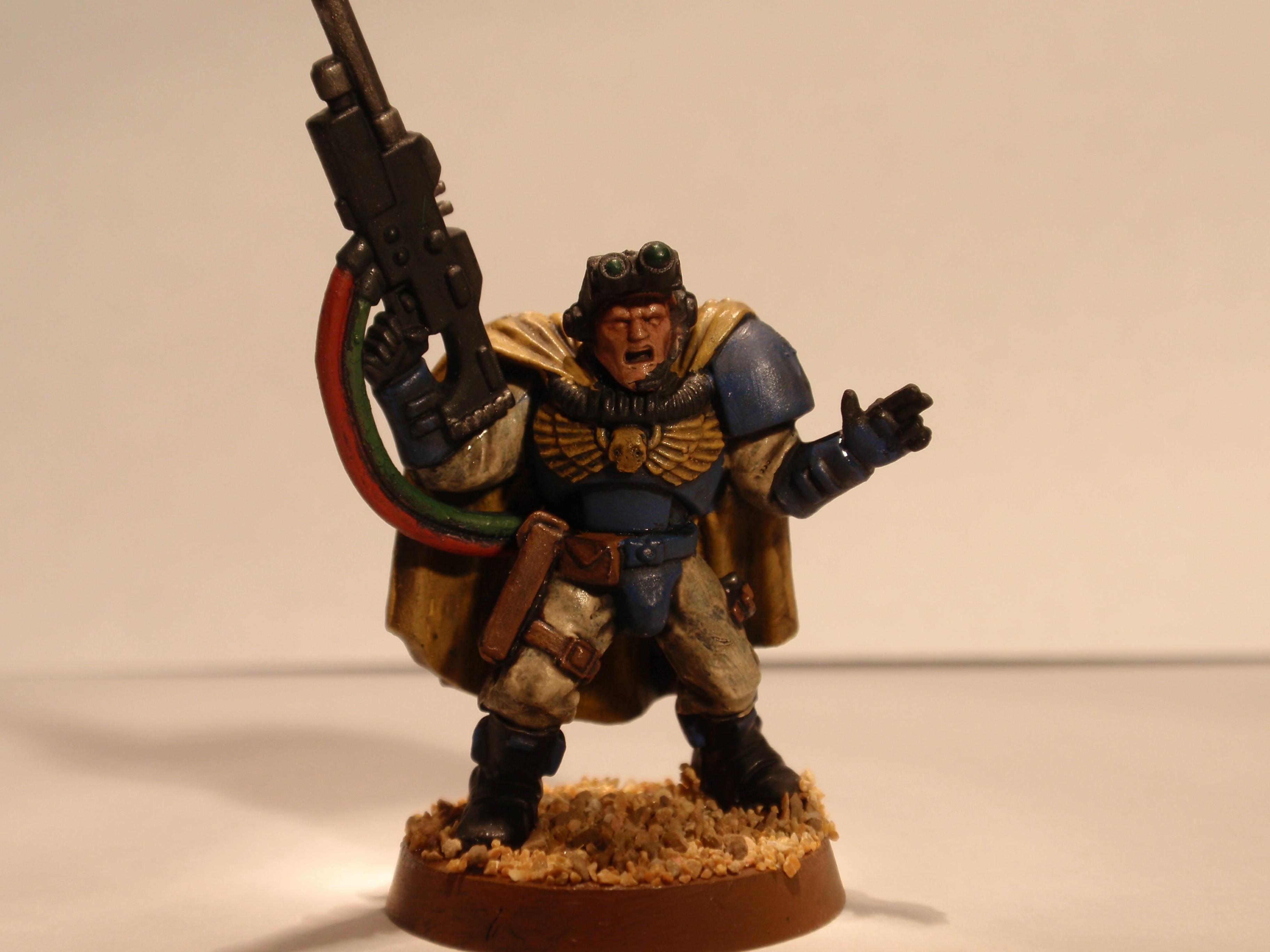 Scout Sergeant, Space Marines, Ultramarines