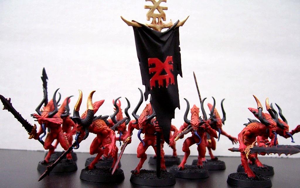 Chaos, Daemons, Warhammer 40,000