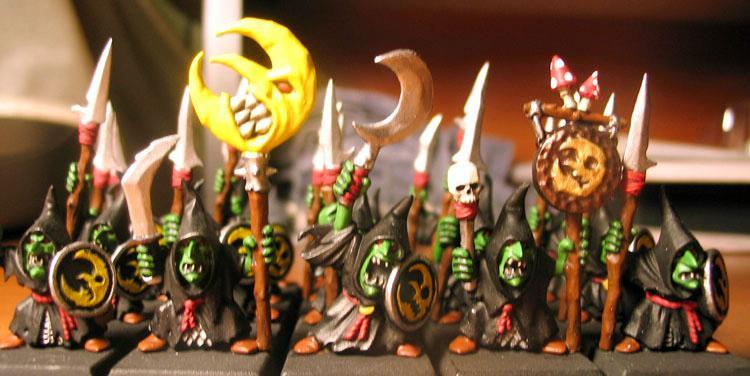 Night Goblins, Shaman, Skull Pass, Standard