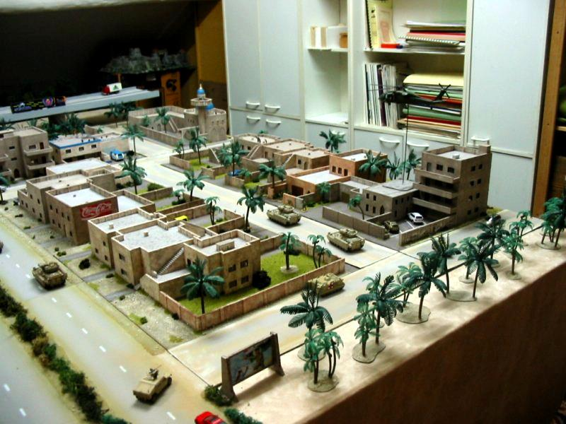 Battle, East, Game Table, Gaming Terrain, South, Town