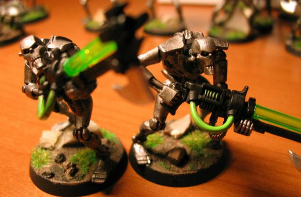 Necrons, Scarabs, Warriors