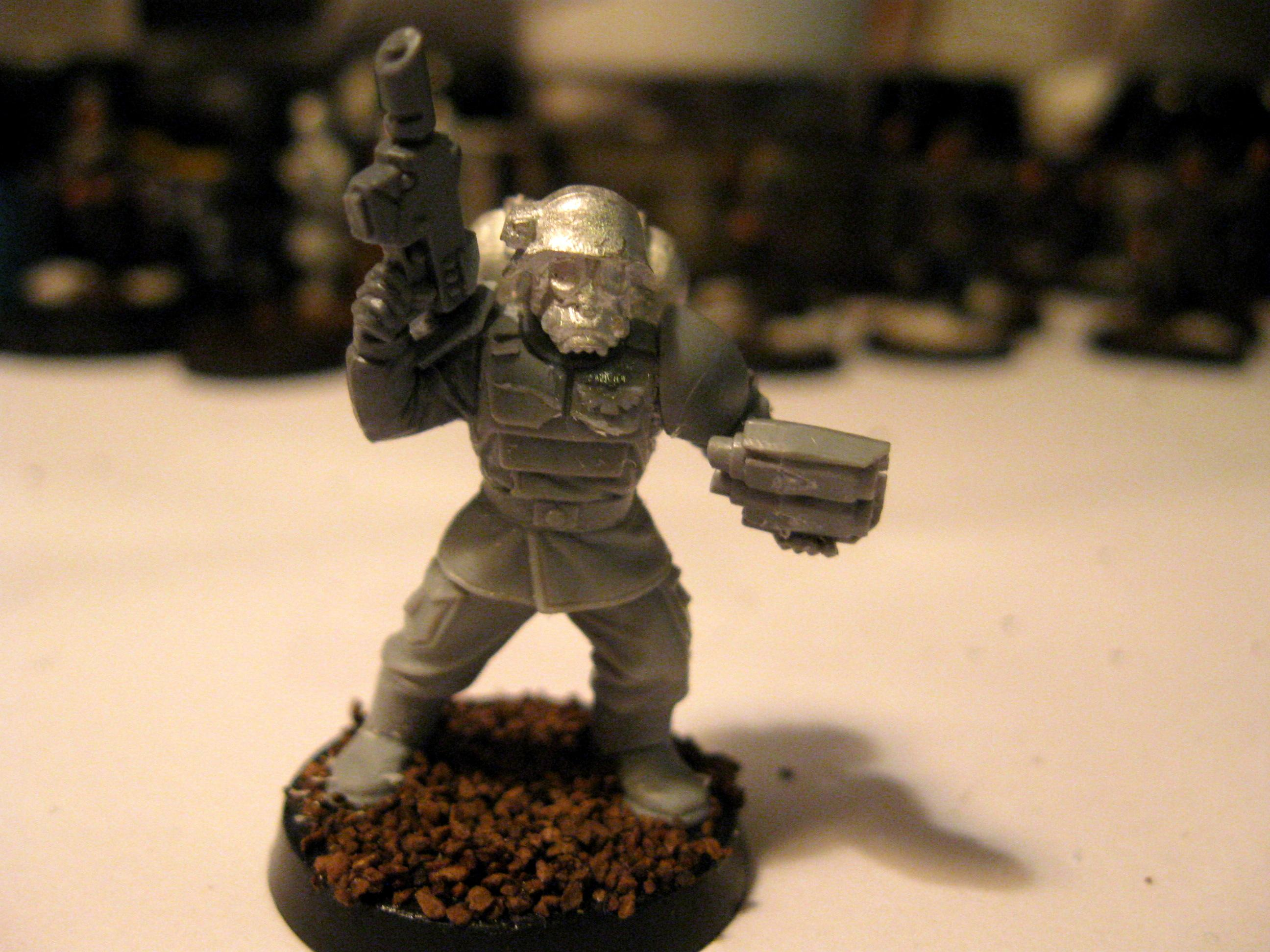 Cadians, Conversion, Imperial Guard, Pig Iron