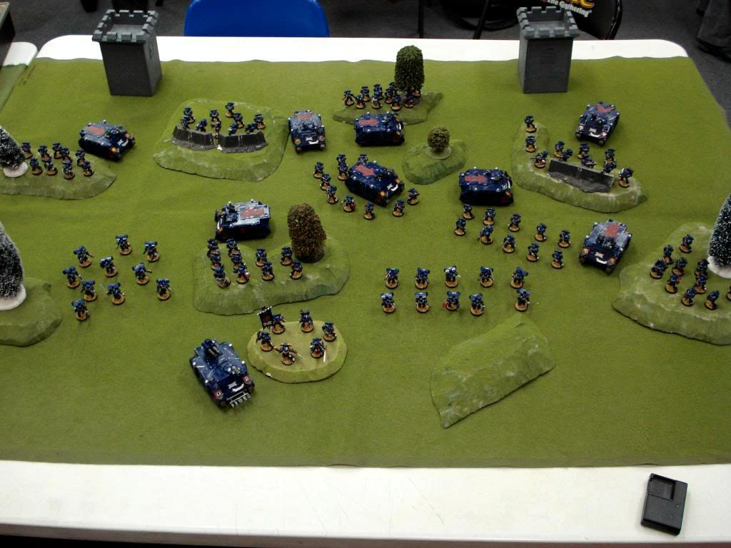 Battle Company, Crimson Fists, Space Marines