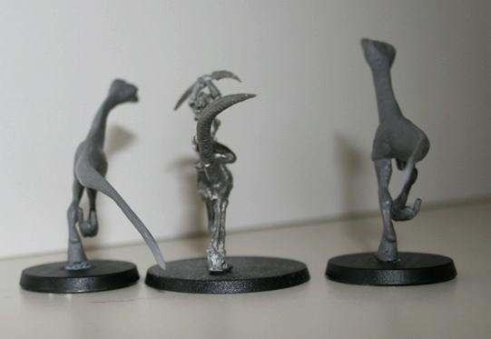 Daemonettes, Daemons, Mounted Daemonettes, Seekers, Slaanesh