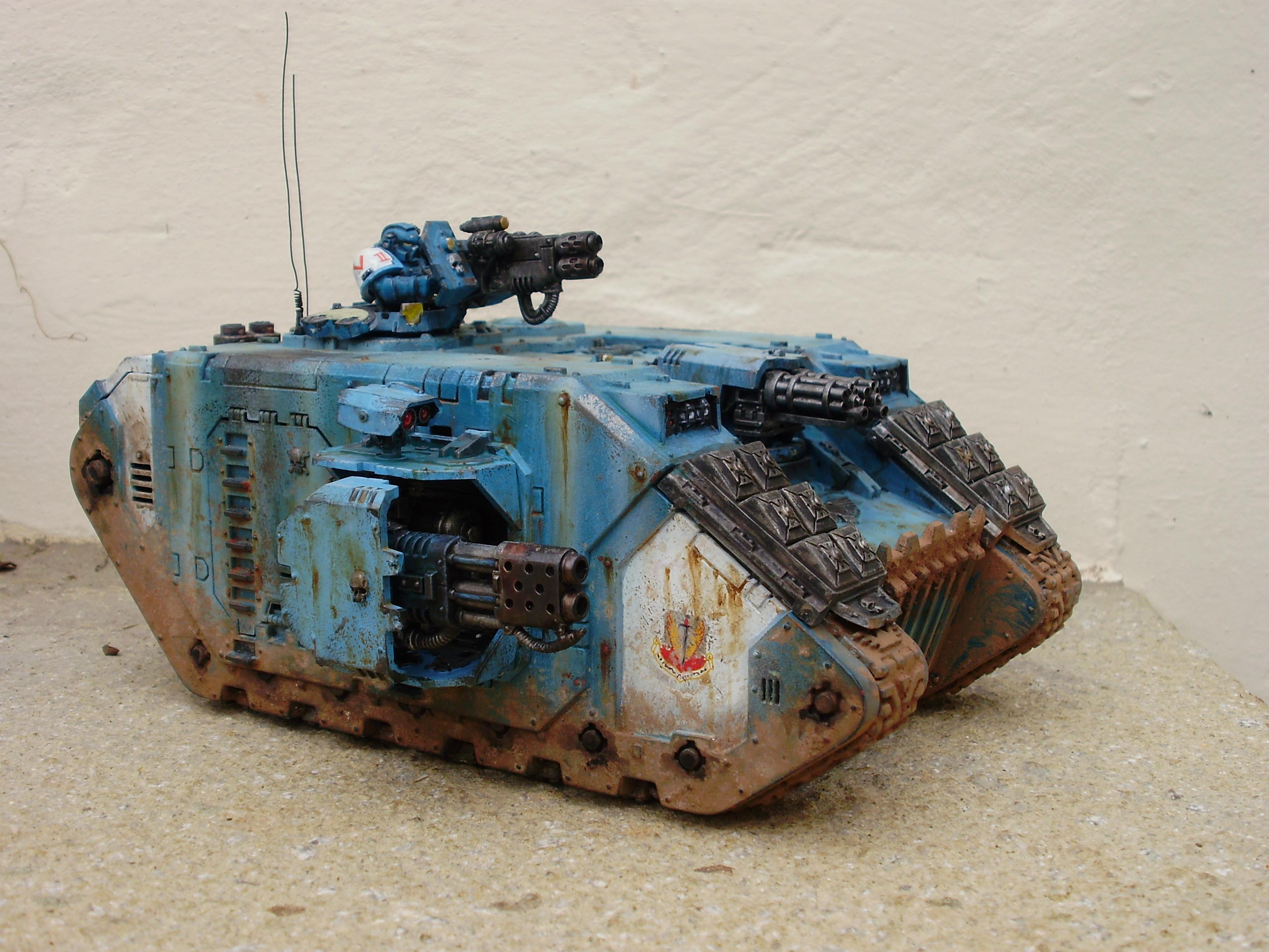 Land Raider, Space Marines, Vehicle, Warhammer 40,000