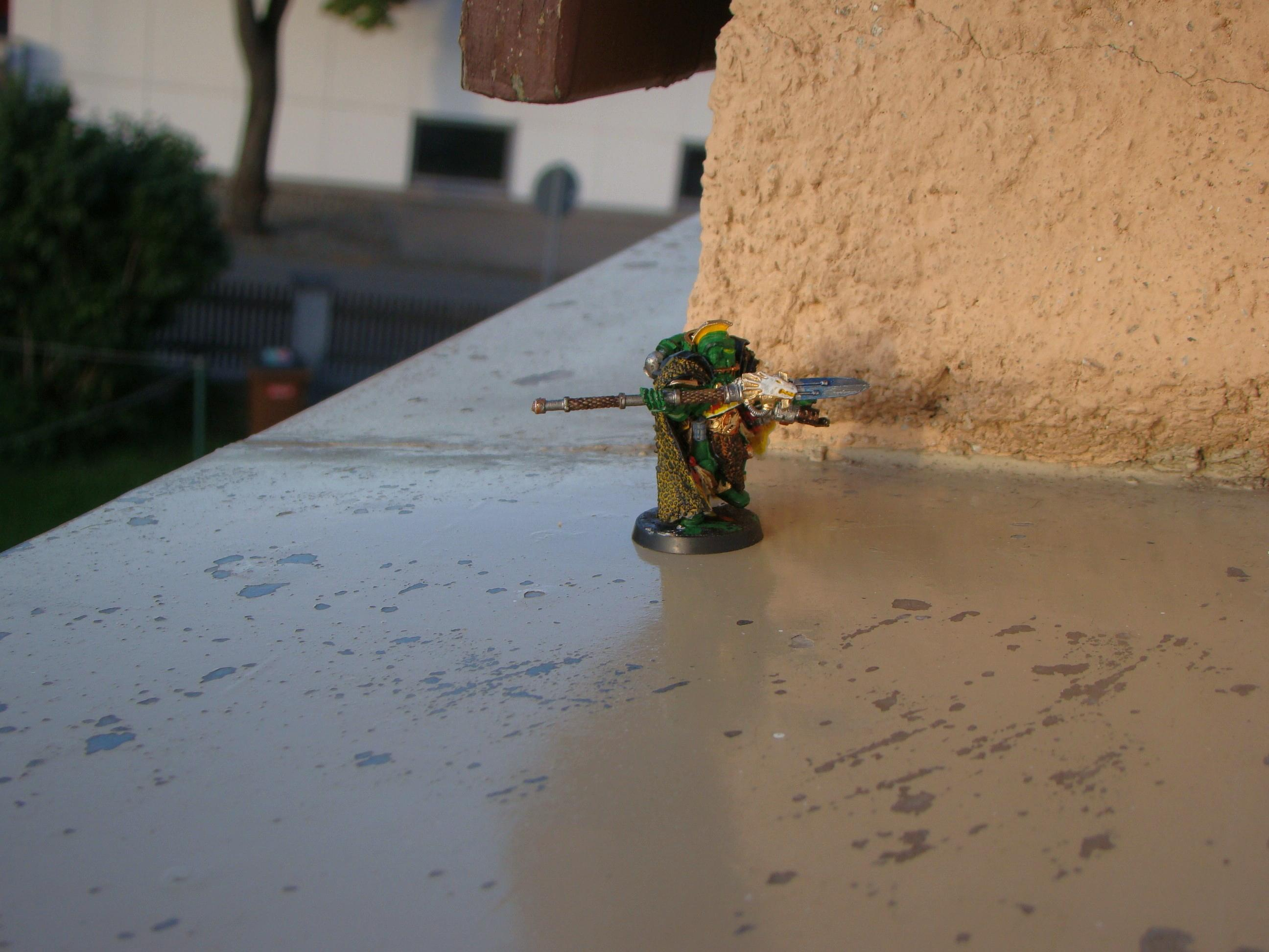 Headquarters, Salamanders, Space Marines, Vulcan H'estan, Warhammer 40,000
