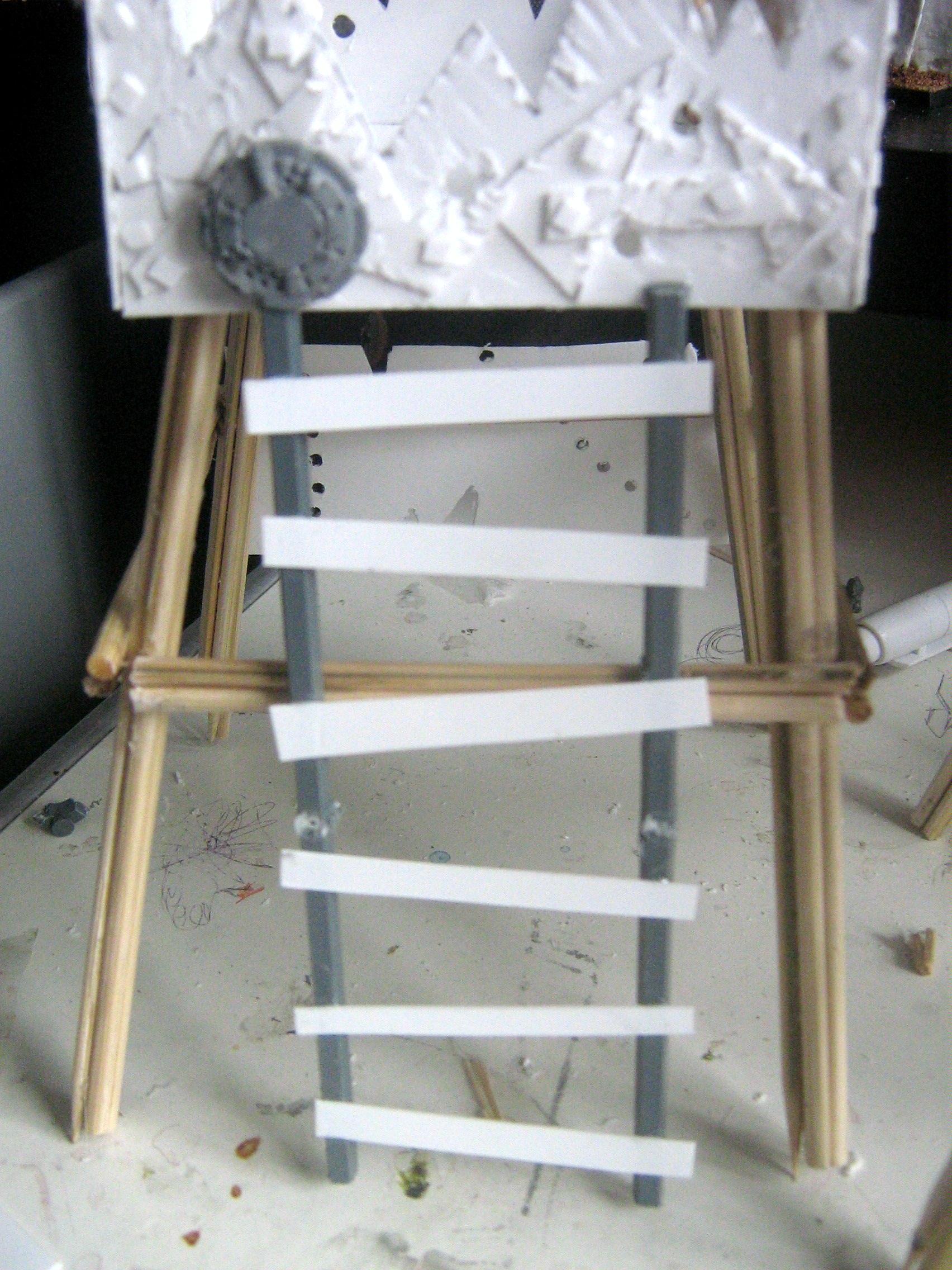 Big, Ladder, Sprue, Walkway