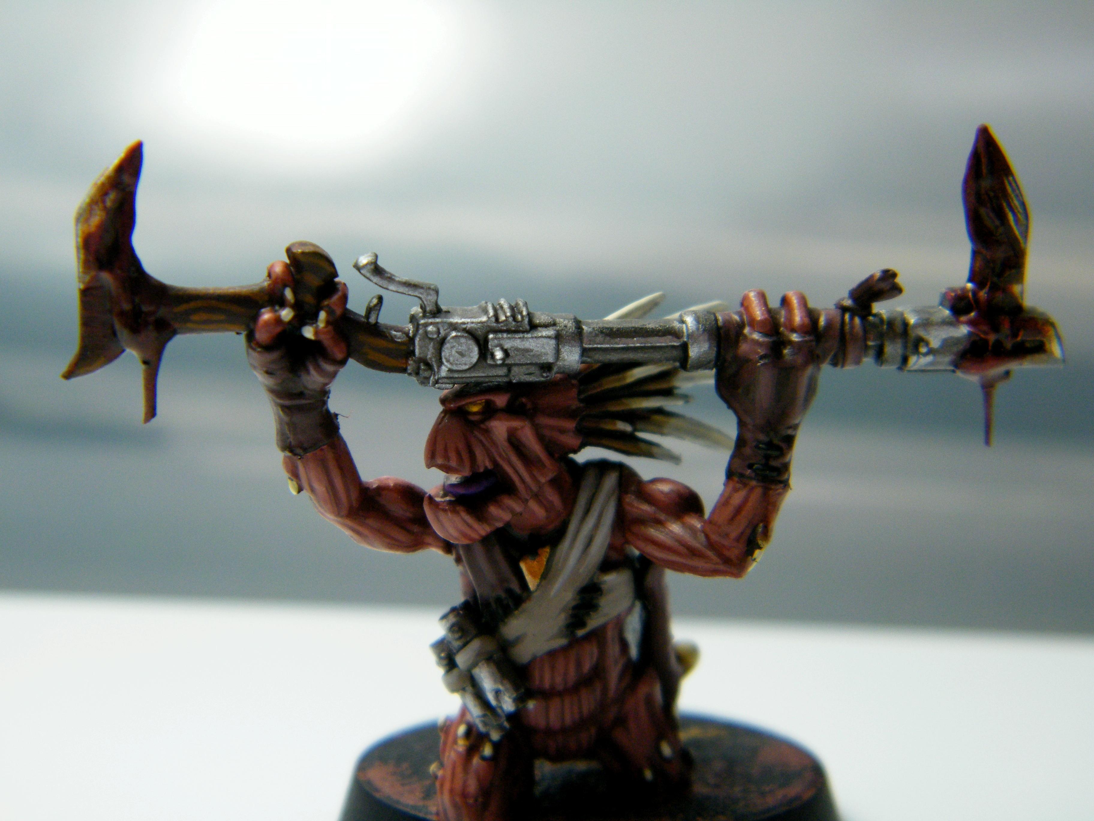 Conversion, Kroot, Warhammer 40,000, Work In Progress