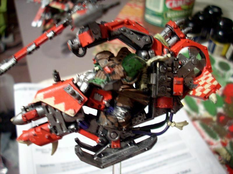 Blurred Photo, Deffkopta, Orks, Warhammer 40,000