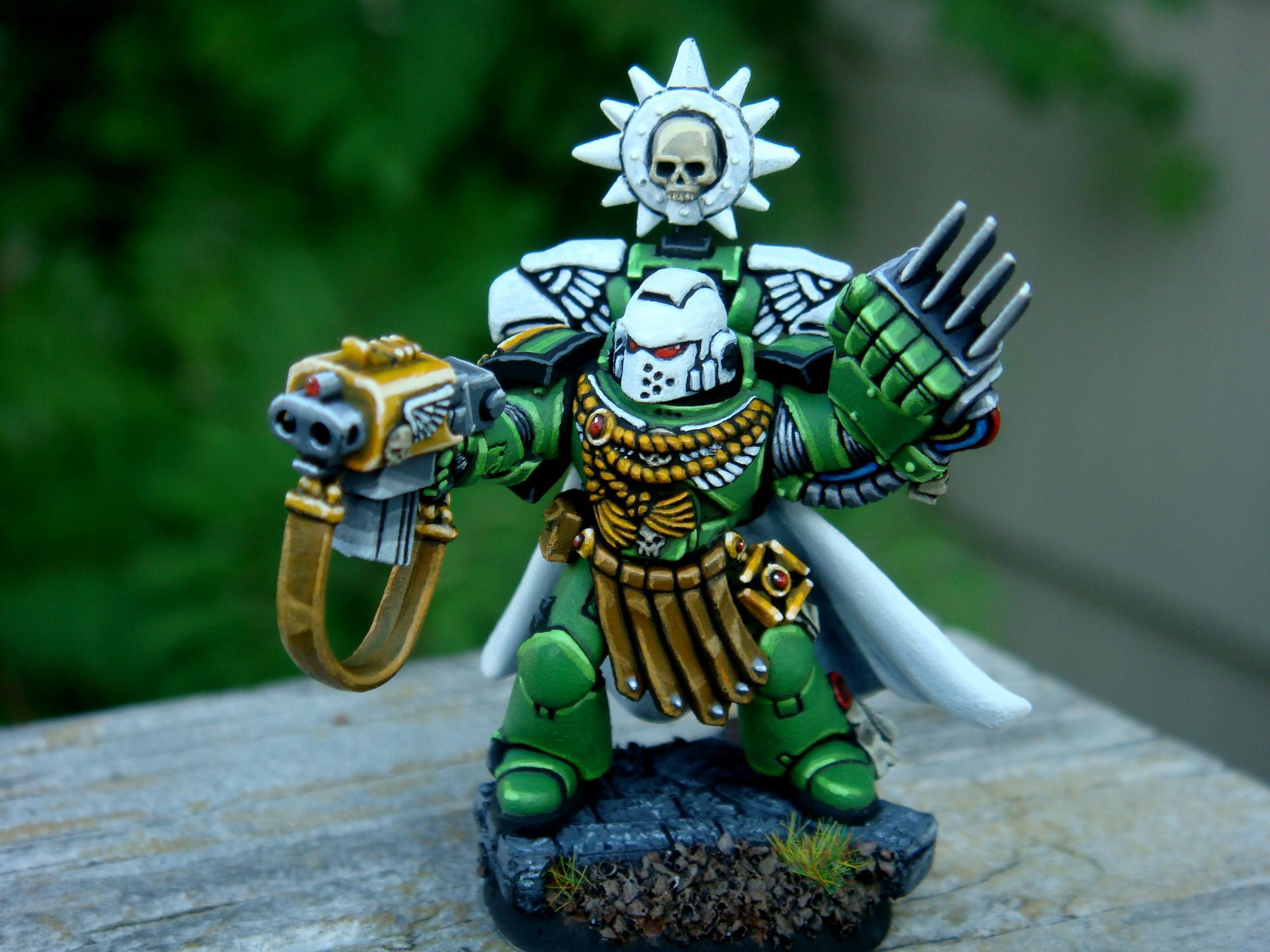 Commander, Lightning Claws, Som, Sons Of Medusa, Space Marines