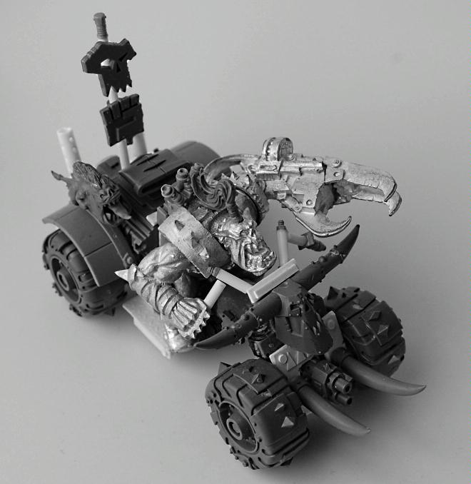 Warboss on Bike