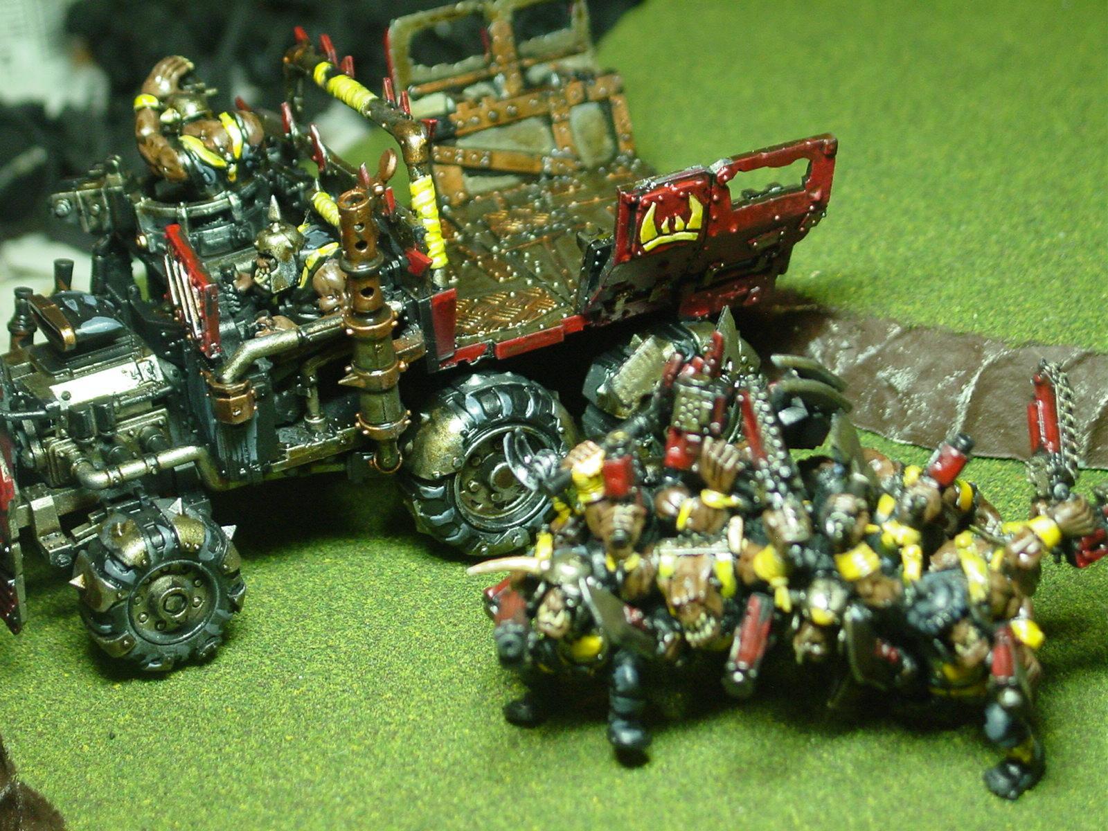 Warhammer 40000, Orks, Trukk