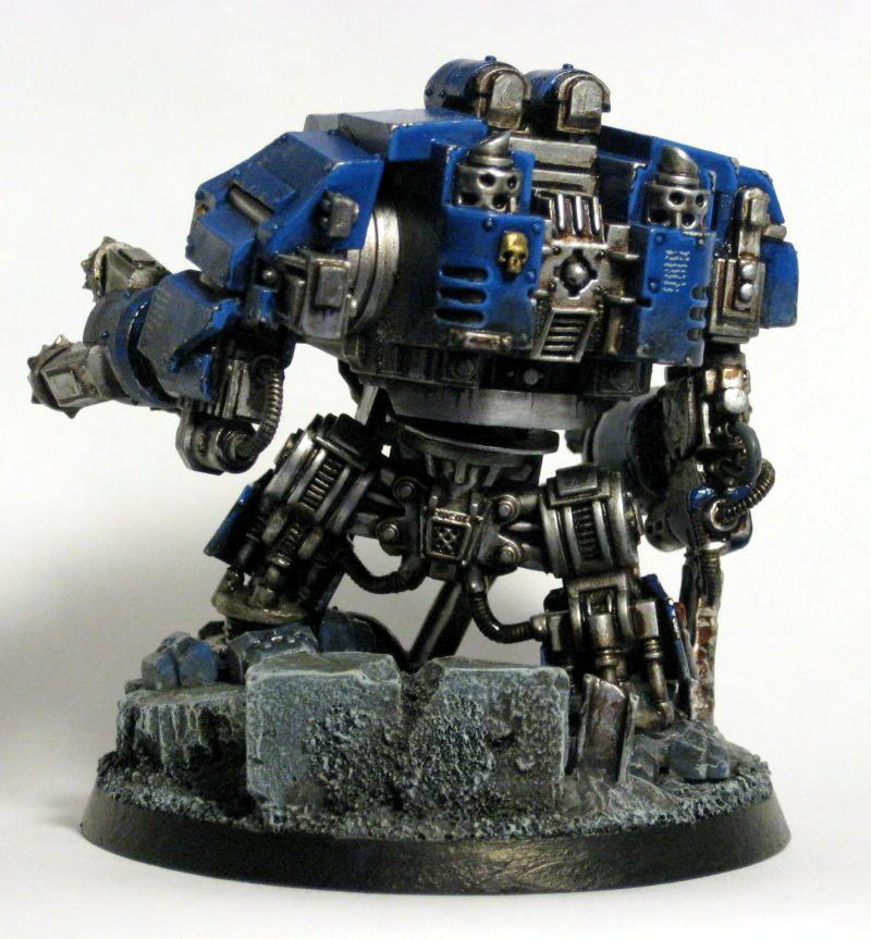 Conversion, Dreadnought, Drill, Forge World, Ironclad, Sculpting, Ultramarines, Weathered