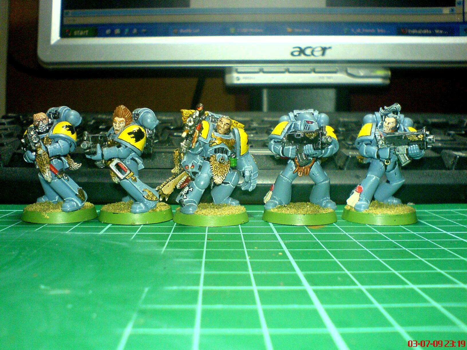 Grey Hunters, Space Marines, Space Wolves