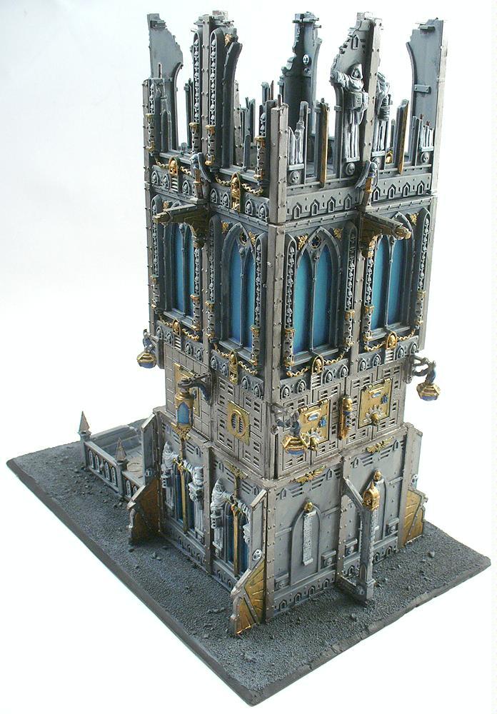 Buildings, Dice, Dice Tower, Grimdark, Imperial, Terrain, Tower