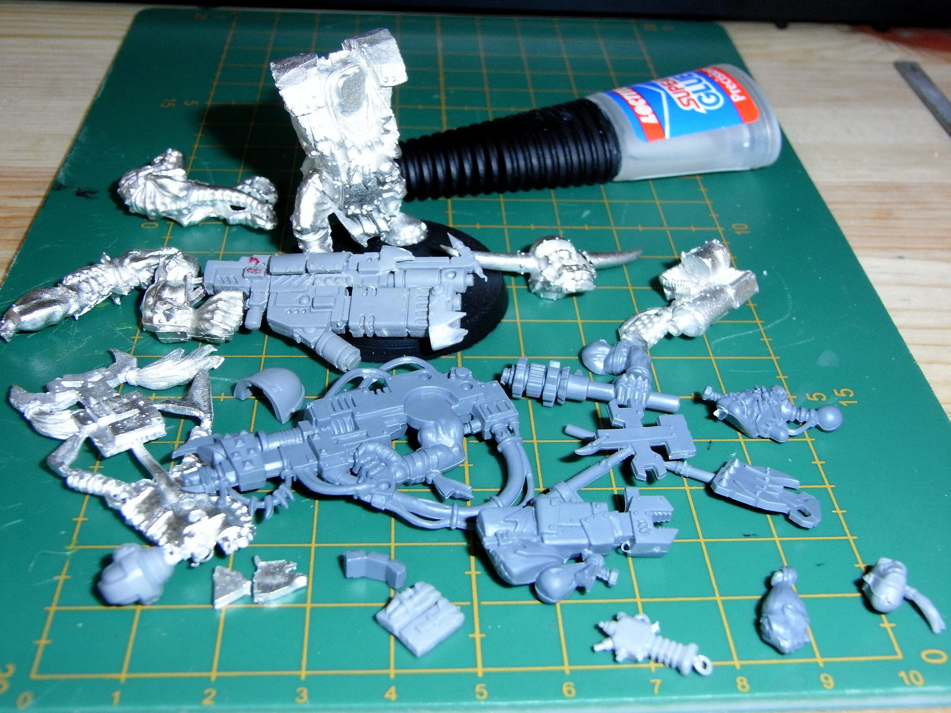Bits to chop up for the big mek