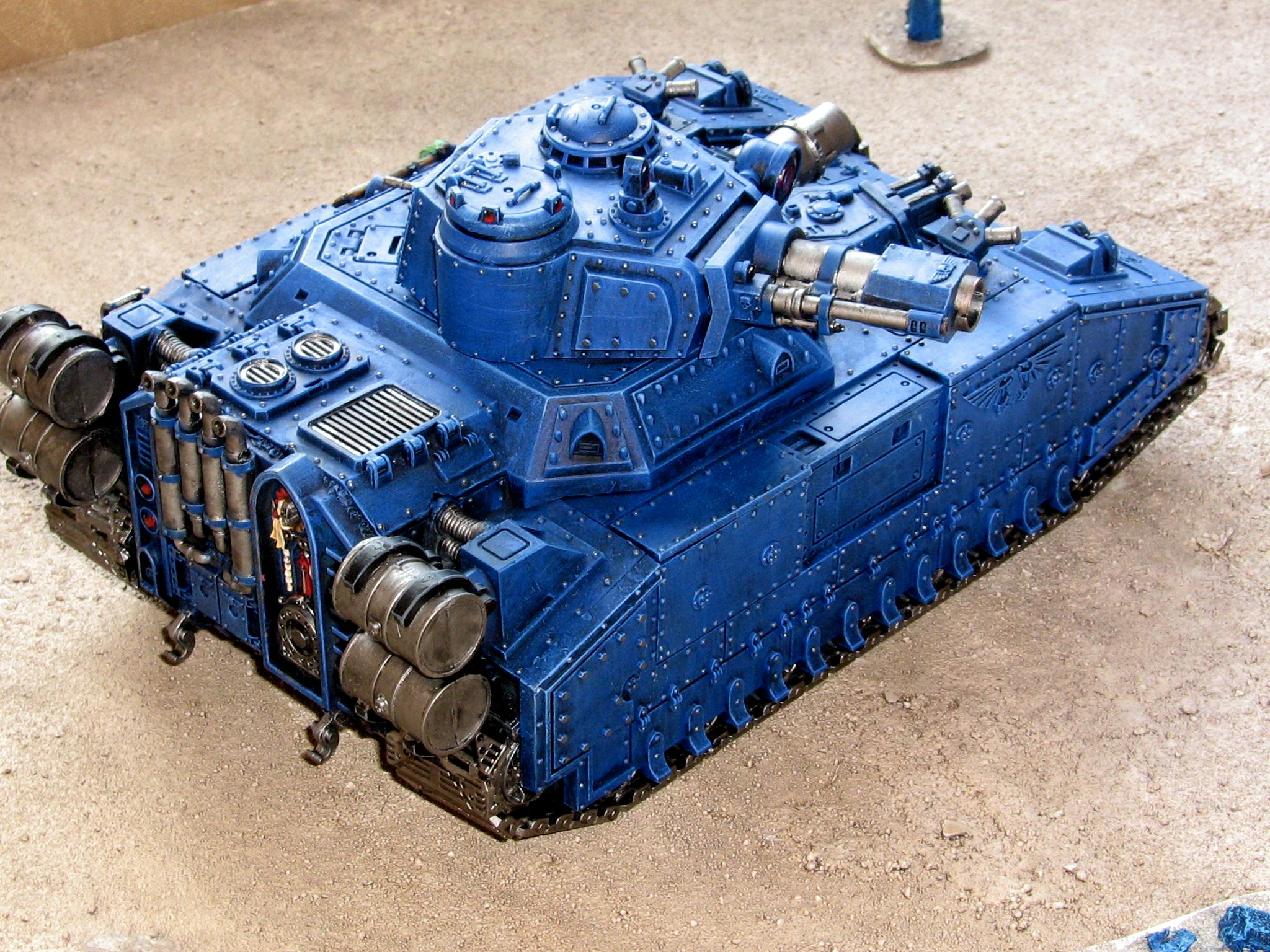 Battle Tank, Space Marines, Ultramarines