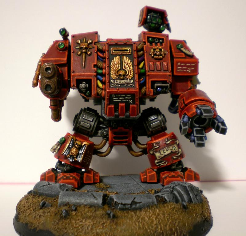 Blood Ravens, Dreadnought, Space Marines