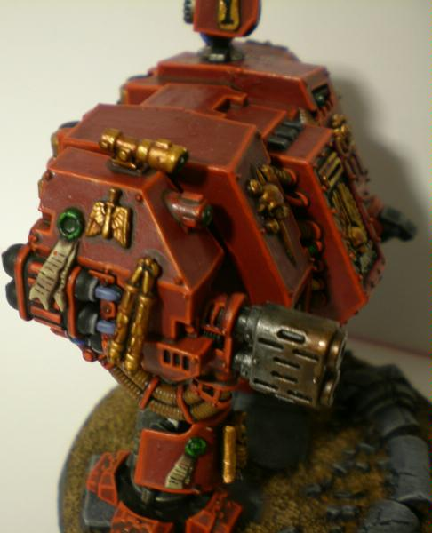 Angel, Dreadnought, Multimelta, Space, Space Marines, Warhammer 40,000, Warhammer Fantasy