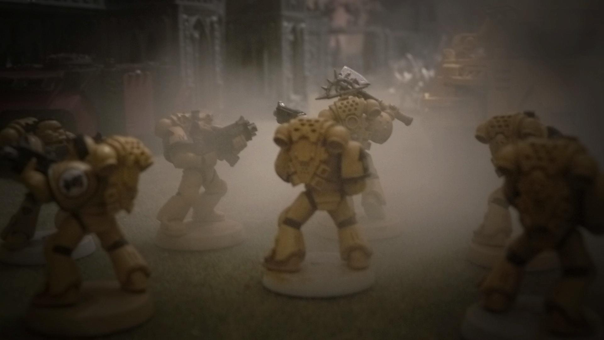 Smoke Effects, Space Marines, Urban
