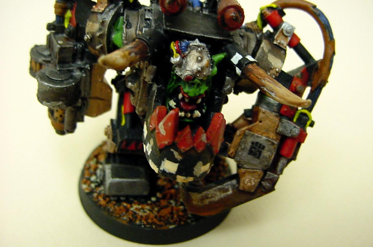 Ghazgul, Mega Armor, Orks, Warboss