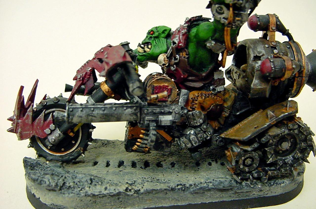 Nob, Nob Biker, Ork Biker, Orks, Warhammer 40,000