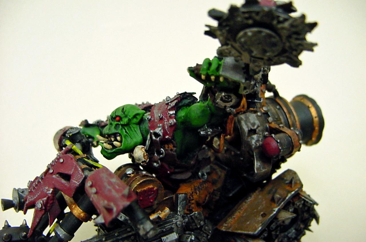 Biker Boyz, Orks, Warboss, Warhammer 40,000