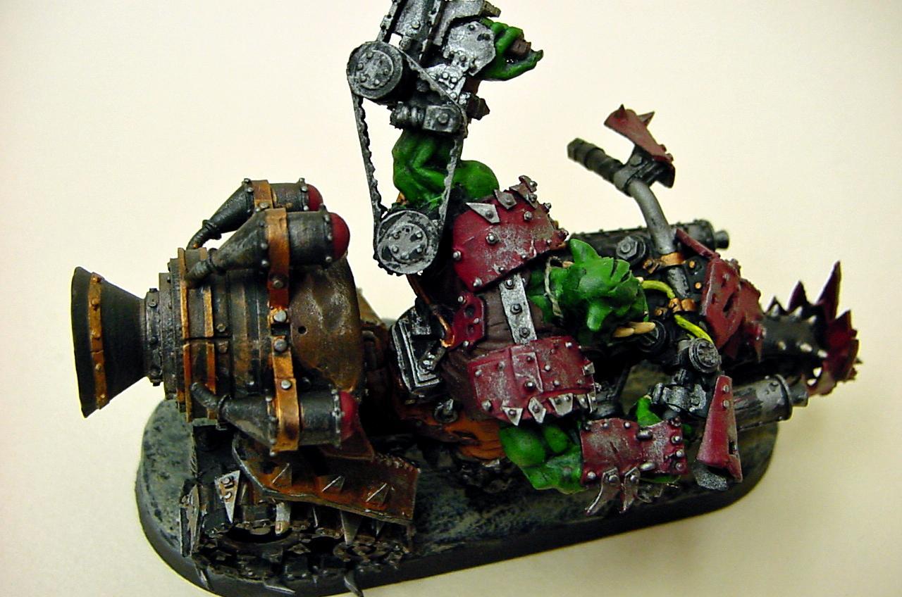 Bike, Forge World, Orks, Warbike