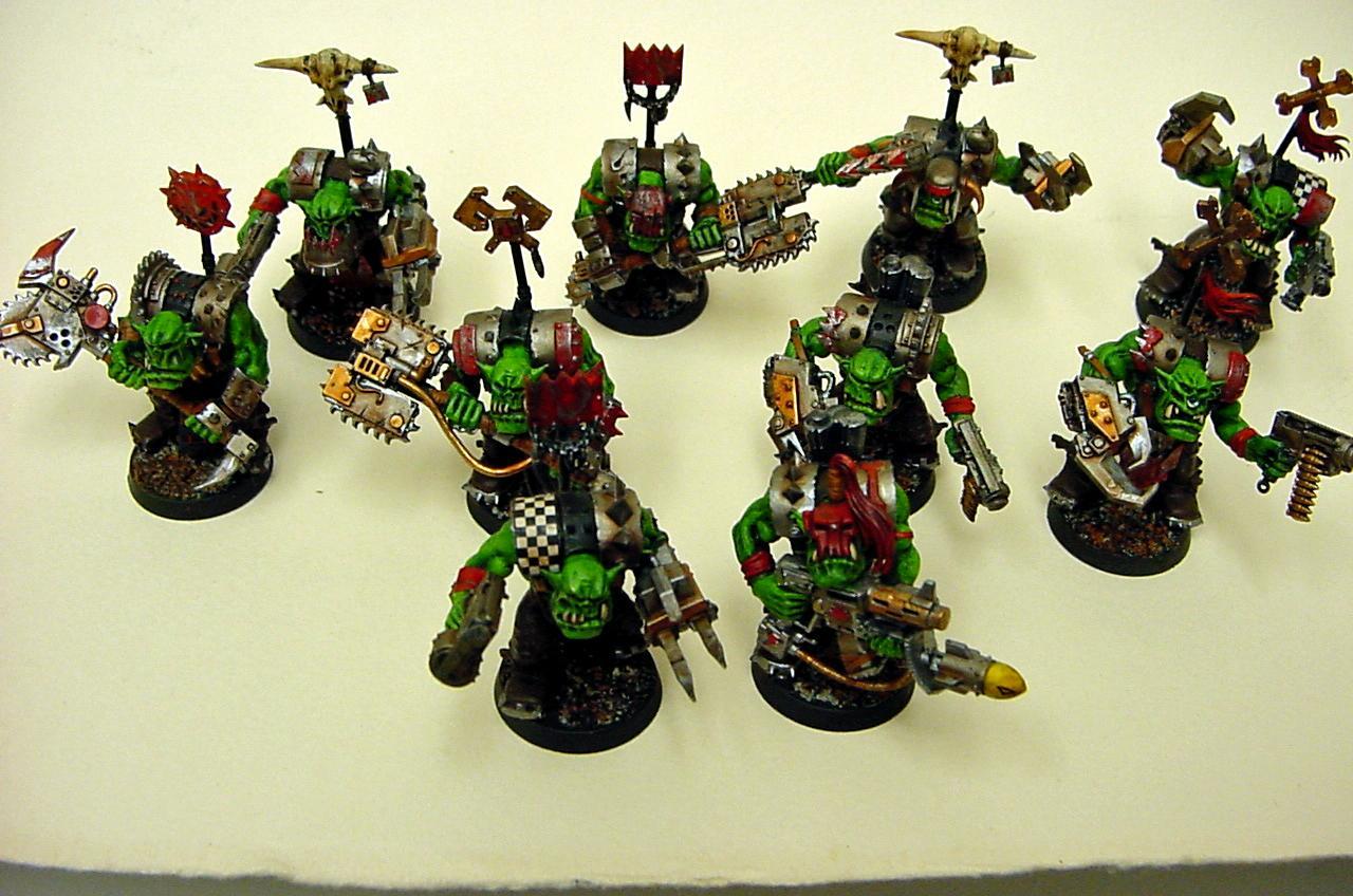 Evil Sunz, Nob, Warhammer 40,000, Warhammer Fantasy